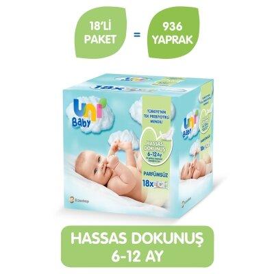 Uni Baby Sensitive Islak Havlu 18'li 1008 Yaprak