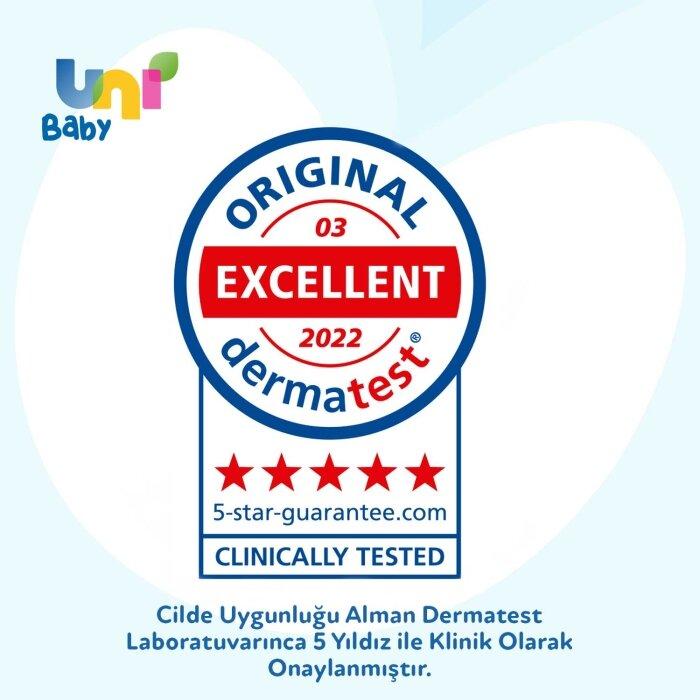 Uni Baby Saç ve Vücut Şampuanı 700 ml 3'lü Set