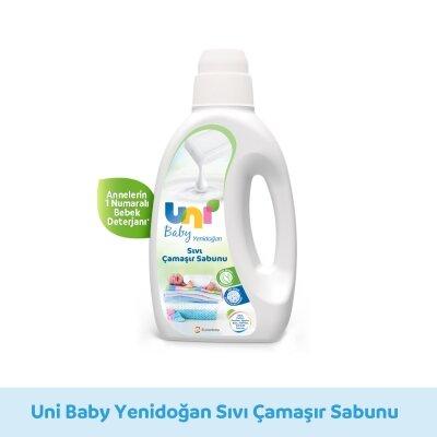 Uni Baby Yenidoğan Çamaşır Sabunu 1500ML 2'li Set