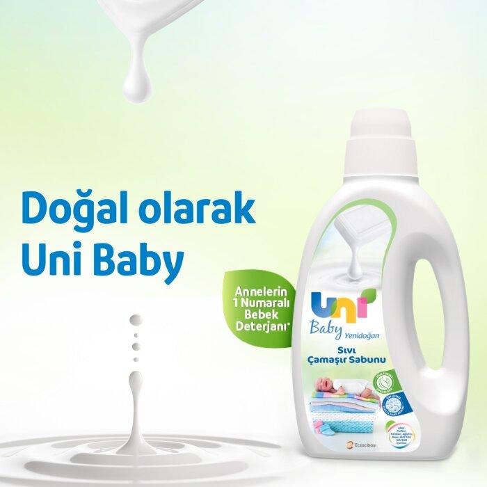 Uni Baby Yenidoğan Çamaşır Sabunu 1500 ML