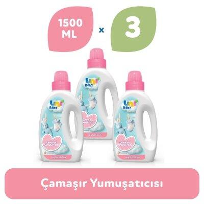 Uni Baby Hipoalerjenik Çamaşır Yumuşatıcısı 1500 ml 3'lü