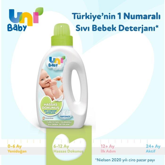 Uni Baby Hassas Dokunuş Sıvı Çamaşır Deterjanı 1000 ml