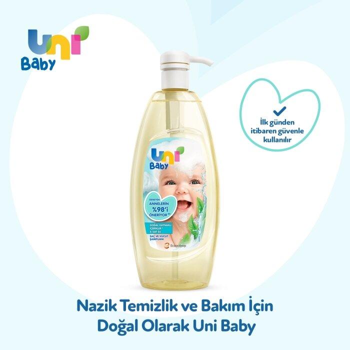 Uni Baby Saç ve Vücut Şampuan 500 ml