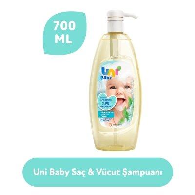 Uni Baby Saç ve Vücut Şampuan 700 ml