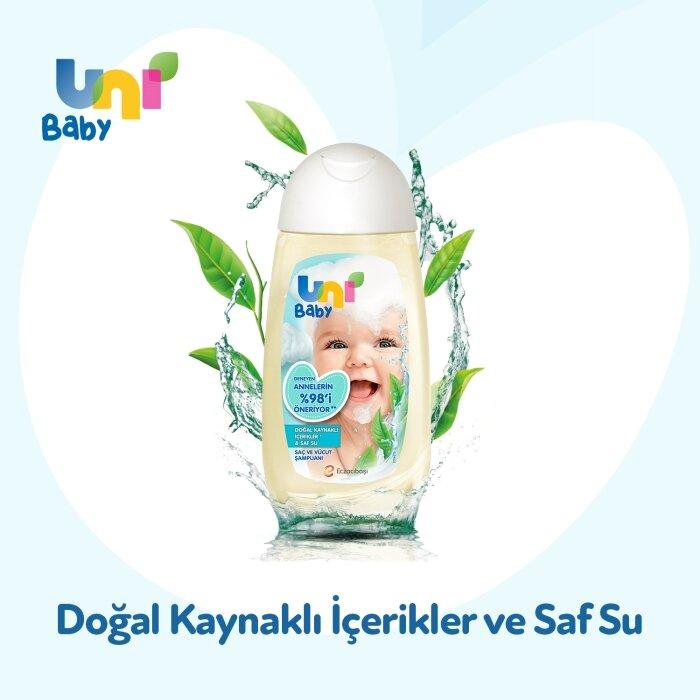 Uni Baby Saç ve Vücut Şampuan 200 ml