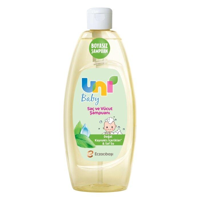Uni Baby Saç ve Vücut Şampuanı 500 ml Flip
