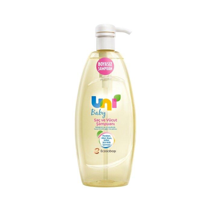 Uni Baby Boyasız Şampuan 500 ml