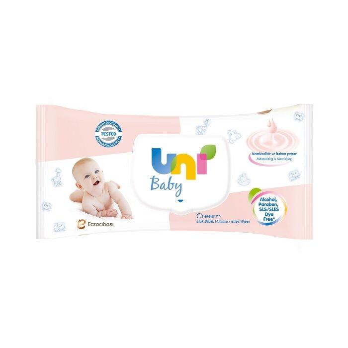 Uni Baby Cream Islak Havlu