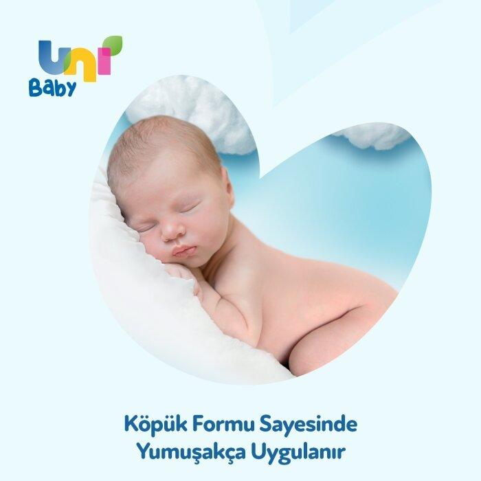 Uni Baby Yenidoğan Saç ve Vücut Köpük Şampuanı 200 ml