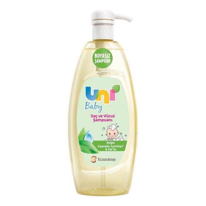Uni Baby Boyasız Şampuan 900 ml