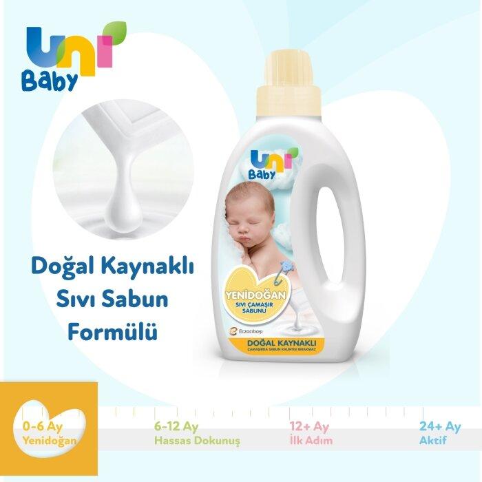 Uni Baby Yenidoğan Sıvı Çamaşır Sabunu 1500 ml